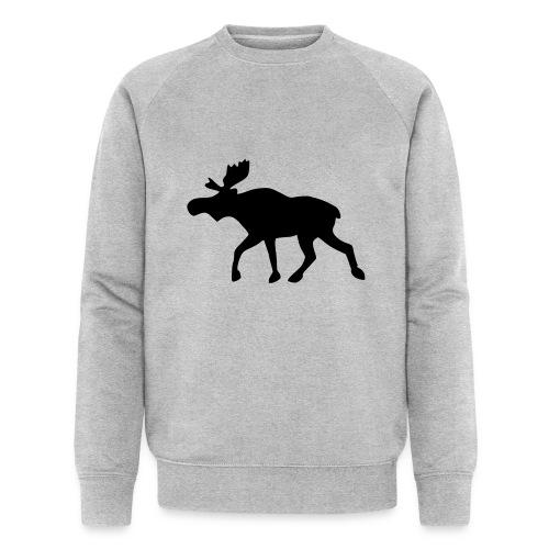 Elch - Männer Bio-Sweatshirt von Stanley & Stella