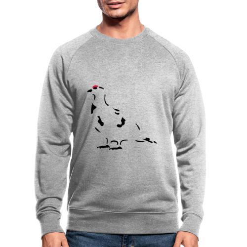 Schneehuhn - Männer Bio-Sweatshirt