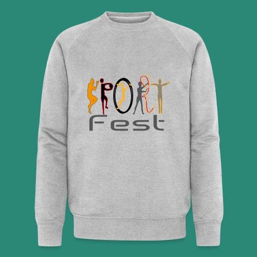 sportfest - Männer Bio-Sweatshirt von Stanley & Stella