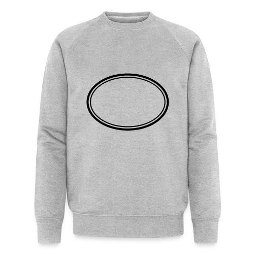 Kreis - Männer Bio-Sweatshirt