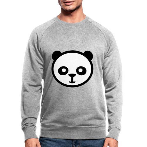 Pandabär, Große Panda, Riesenpanda, Bambusbär - Männer Bio-Sweatshirt