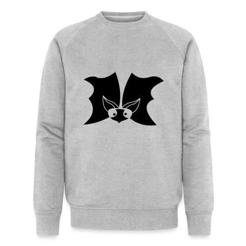 bat face mask - Mannen bio sweatshirt