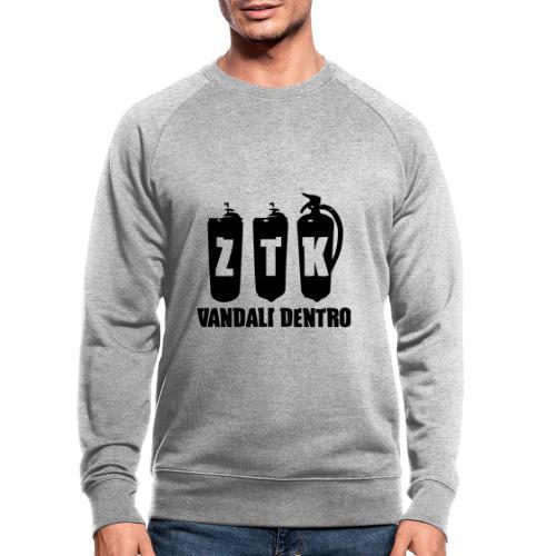 ZTK Vandali Dentro Morphing 1 - Men's Organic Sweatshirt by Stanley & Stella
