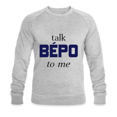 talk bépo new - Sweat-shirt bio Stanley & Stella Homme