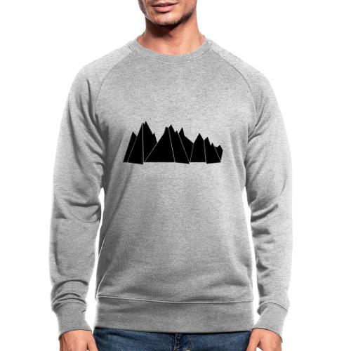 BlackMountains - Männer Bio-Sweatshirt