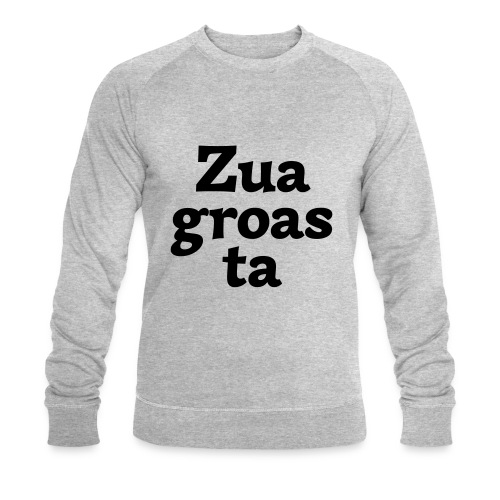 Zuagroasta - Männer Bio-Sweatshirt von Stanley & Stella