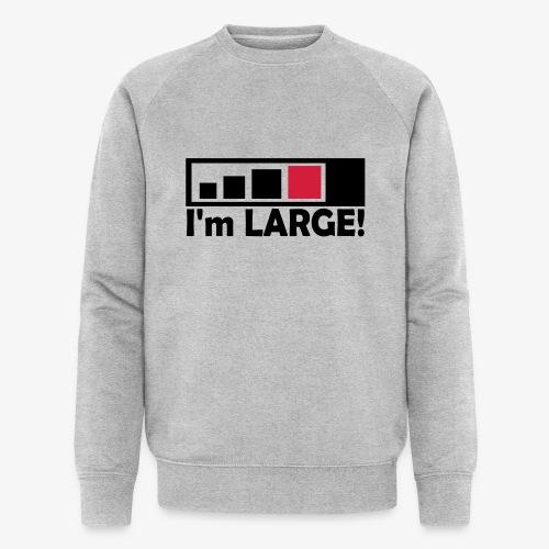 large_geocacher - Männer Bio-Sweatshirt von Stanley & Stella