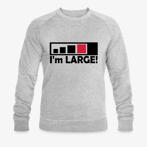 large_geocacher - Männer Bio-Sweatshirt