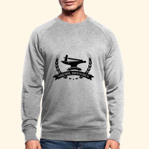 Smedöl Brygghus Logga Svart - Ekologisk sweatshirt herr