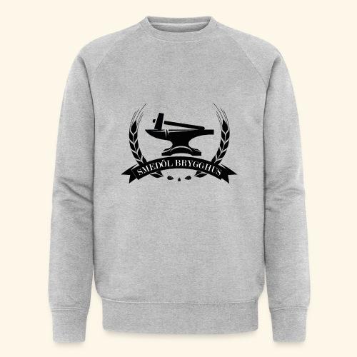 Smedöl Brygghus Logga Svart - Ekologisk sweatshirt herr från Stanley & Stella