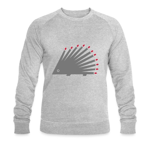 Hedgehog - Men's Organic Sweatshirt by Stanley & Stella