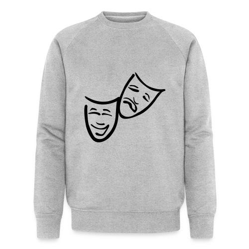 Theatermasken - Männer Bio-Sweatshirt von Stanley & Stella