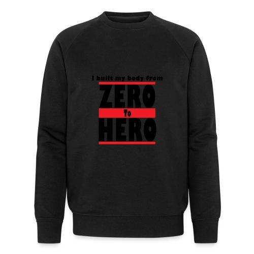 Zero To Hero - Stanley & Stellan miesten luomucollegepaita