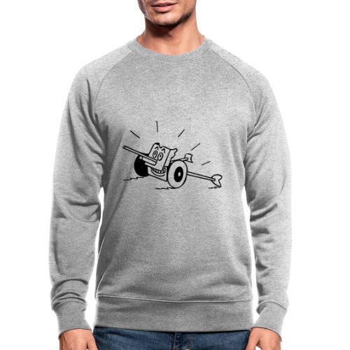 Panzerabwehrkanone - Männer Bio-Sweatshirt von Stanley & Stella