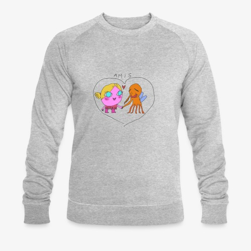 les meilleurs amis - Sweat-shirt bio Stanley & Stella Homme