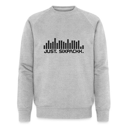 JUST. SIXPACKK. Beat - Männer Bio-Sweatshirt von Stanley & Stella