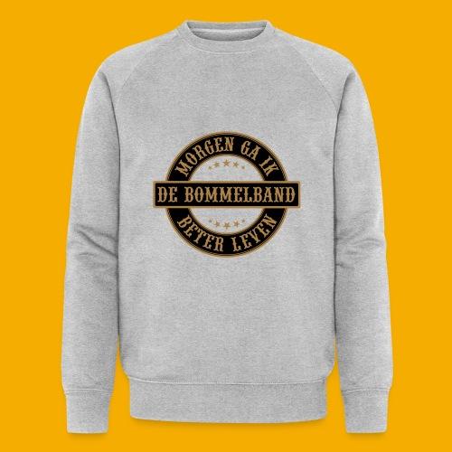 bb logo rond shirt - Mannen bio sweatshirt