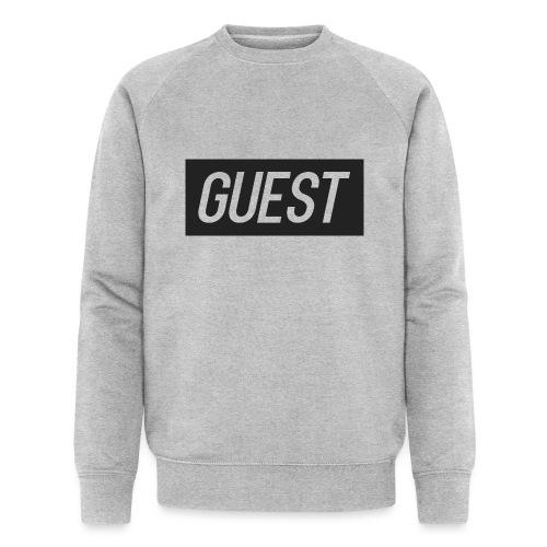 G-rectangle (grey) - Men's Organic Sweatshirt by Stanley & Stella