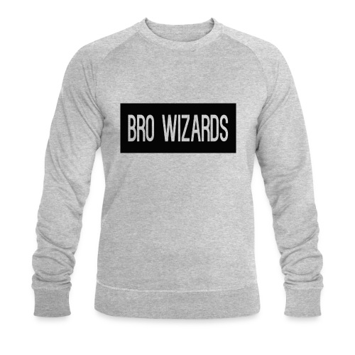 Browizardshoodie - Men's Organic Sweatshirt by Stanley & Stella