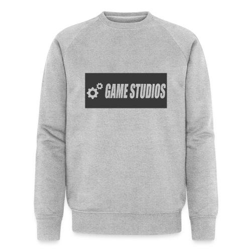 game studio logo - Men's Organic Sweatshirt by Stanley & Stella