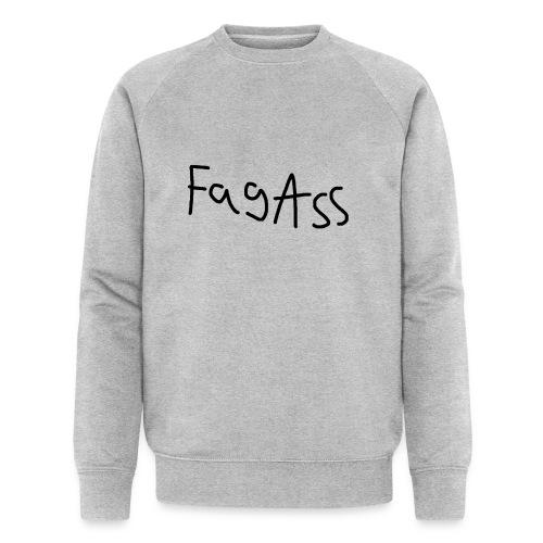 Fag Ass Logo #1 - Økologisk sweatshirt til herrer