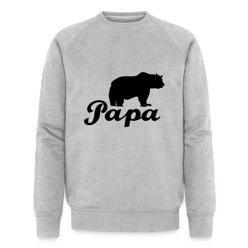 papa beer - Mannen bio sweatshirt
