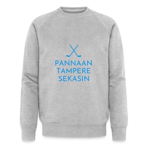 Pannaan Tampere Sekasin - Miesten luomucollegepaita