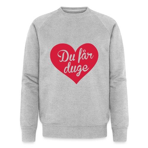 Ekte kjærlighet - Det norske plagg - Økologisk sweatshirt for menn fra Stanley & Stella