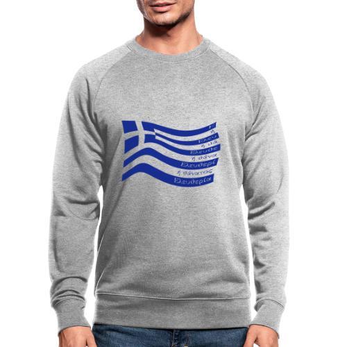 galanolefki - Männer Bio-Sweatshirt