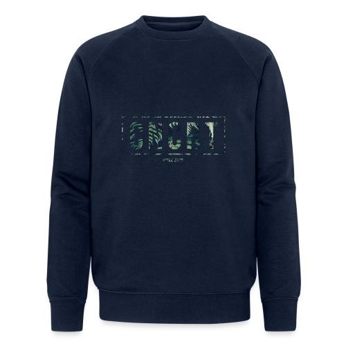 CNCRT white men sweater (Plant Print) - Mannen bio sweatshirt van Stanley & Stella