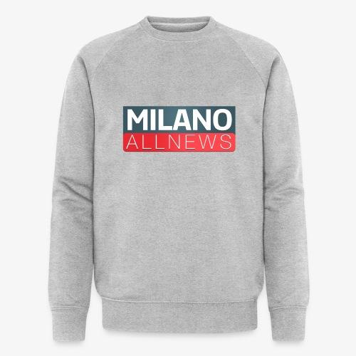 Milano AllNews Logo - Felpa ecologica da uomo di Stanley & Stella