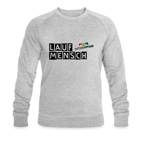 LaufMensch#01 - Männer Bio-Sweatshirt von Stanley & Stella