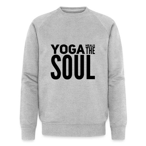 yogalover - Mannen bio sweatshirt van Stanley & Stella