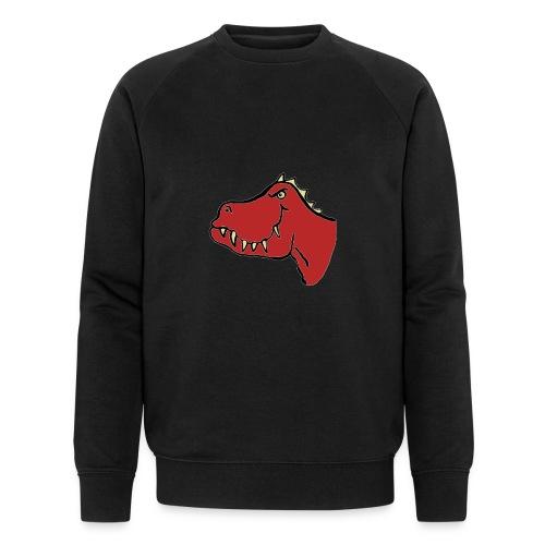 T Rex, Red Dragon - Men's Organic Sweatshirt by Stanley & Stella