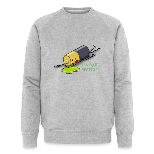 Ich habe fertig - Männer Bio-Sweatshirt von Stanley & Stella