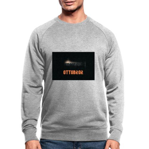 svart granit polerad - Ekologisk sweatshirt herr