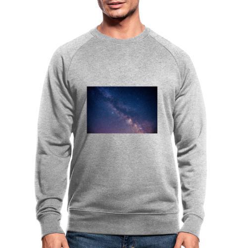 Milchstraße - Männer Bio-Sweatshirt