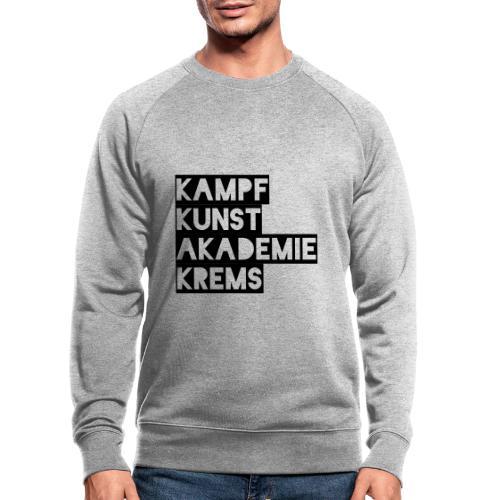 KKA 2016 lifestyle back2 - Männer Bio-Sweatshirt