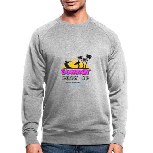 Summer Glow Up - Männer Bio-Sweatshirt