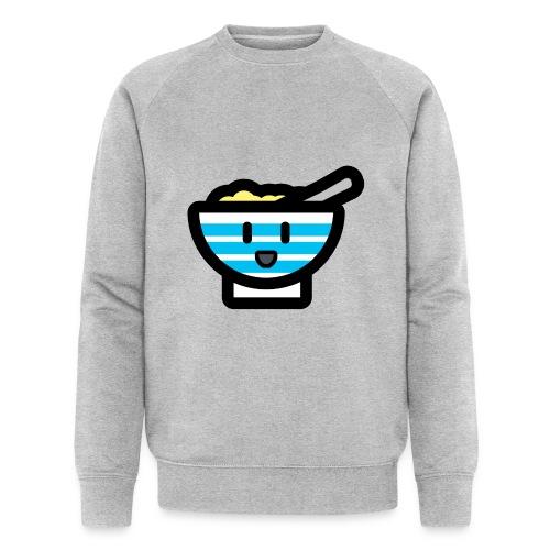 Cute Breakfast Bowl - Men's Organic Sweatshirt by Stanley & Stella