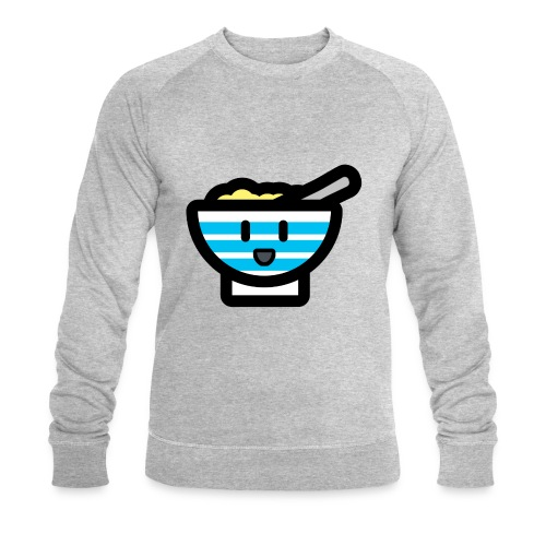 Cute Breakfast Bowl - Men's Organic Sweatshirt