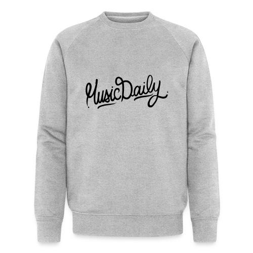 MusicDaily Logo - Mannen bio sweatshirt