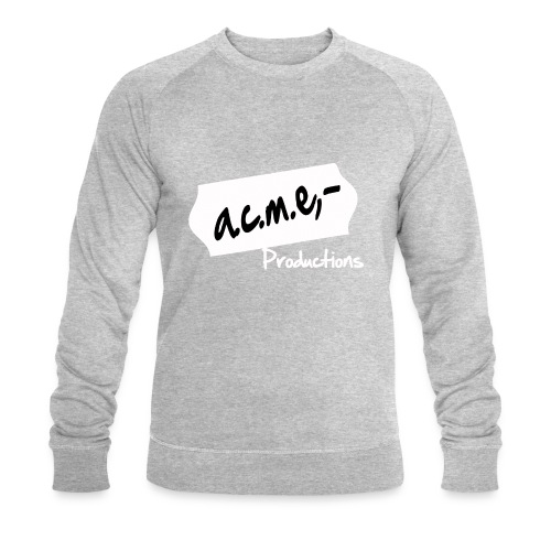 acmeproductionswhite - Männer Bio-Sweatshirt von Stanley & Stella