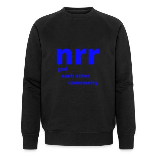 NEARER logo - Men's Organic Sweatshirt