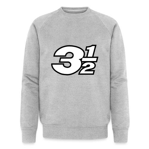 Three and a Half Logo - Men's Organic Sweatshirt by Stanley & Stella