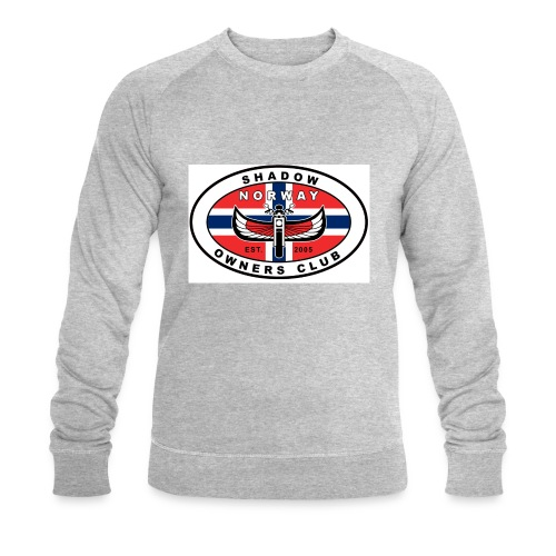 SHOC Norway Patch jpg - Økologisk sweatshirt for menn fra Stanley & Stella