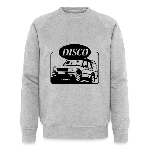 landroverdisco01dblack - Økologisk sweatshirt for menn fra Stanley & Stella