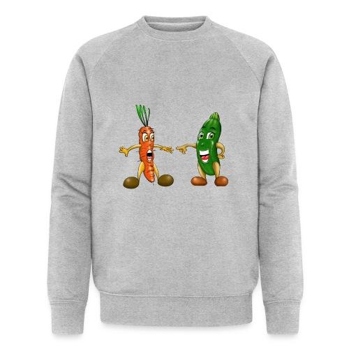 Les légumes du bébé et des végans - Sweat-shirt bio Stanley & Stella Homme