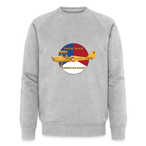 Tiger Moth Kon Marine - Men's Organic Sweatshirt by Stanley & Stella