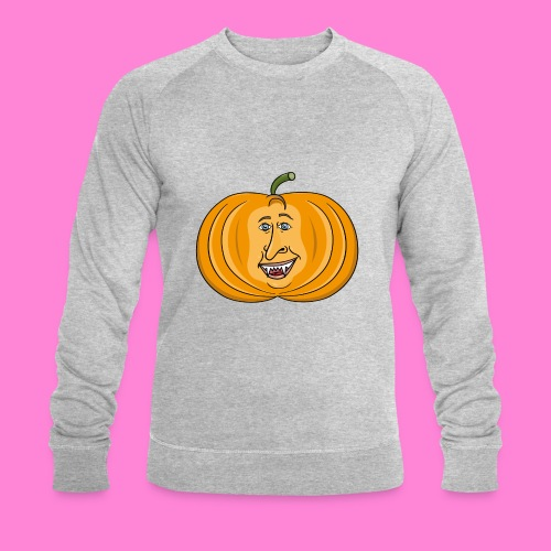 Rick pumpkin - Mannen bio sweatshirt van Stanley & Stella